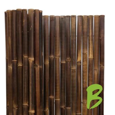 De dikke bamboemat zwart