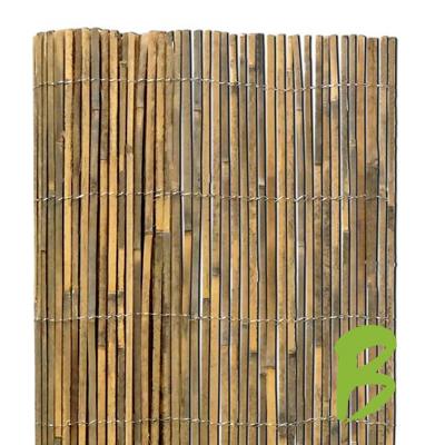 De gespleten bamboemat