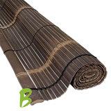 Bamboe zonwering zwart 150 x 200