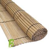 Bamboe rolgordijn 100 x 200 naturel
