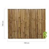 Dikke bamboemat 150 x 180