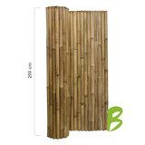 Dikke bamboemat op rol 200 x 180