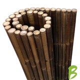 Dikke bamboemat zwart 150 x 180 kopen