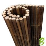 Dikke bamboemat zwart 180 x 180 kopen