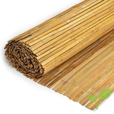 Gespleten Bamboemat 100 x 500