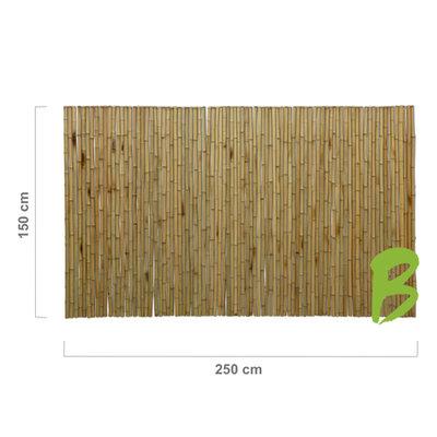 Bamboemat 150 x 250