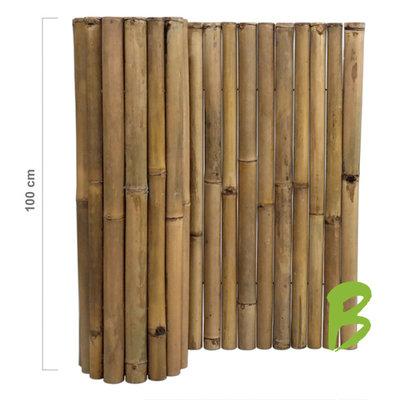 Dikke bamboemat 100 x 180 naturel