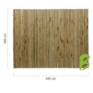 Bamboemat 200 x 250