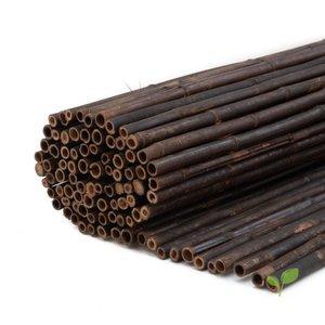 Zwarte bamboematten 1 meter hoog